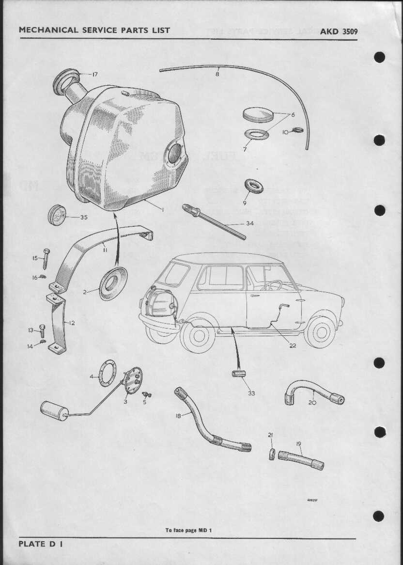 Mini Cooper Fuel System Diagram Schematics Wiring Diagrams 2007 Engine Parts Index Of Morris S Type Mechanical Service Rh L18airport Com