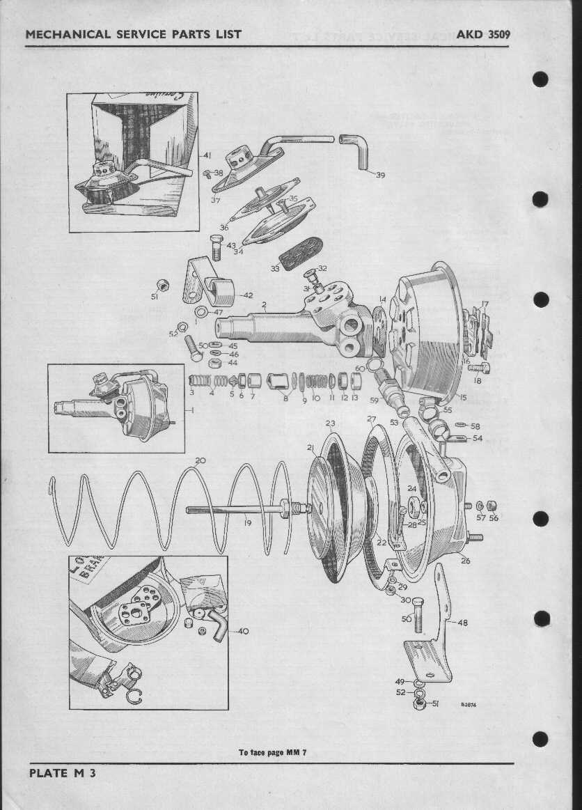 Index Of Morris Mini Cooper S Type Mechanical Service Parts Brakes Diagram Mm7 M3